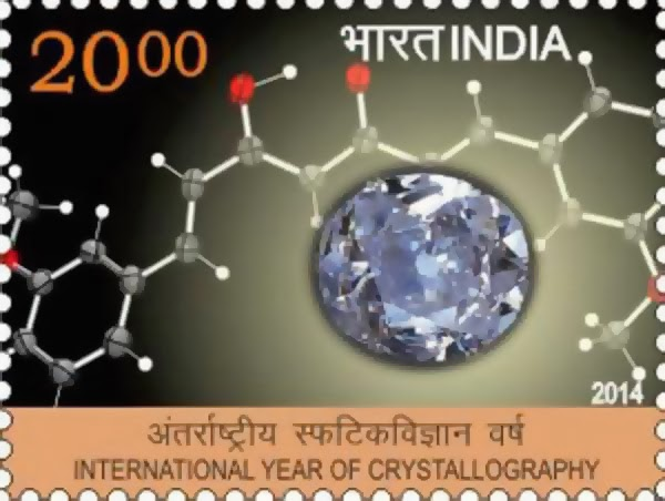 INTERNATIONAL YEAR OF CRYSTALLOGRAPHY mint