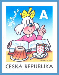 The Čtyřlístek Comics – Fifinka